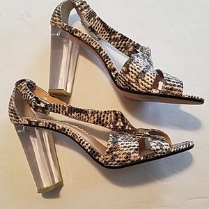 TALBOTS CLEAR HEEL SHOES